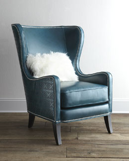 "Massoud ""Glenmore"" Wing Chair"