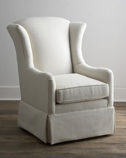 """Copano"" Skirted Chair"