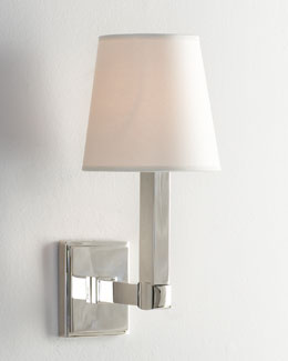 "VISUAL COMFORT ""Square Plate"" Sconce"