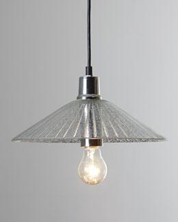 """Regina-Andrew Design """"Mercury-Glass"""" Saucer Pendant"""