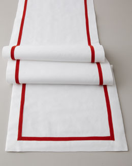 "Lulu DK for Matouk ""Soiree"" Table Runner, 15"" x 90"""
