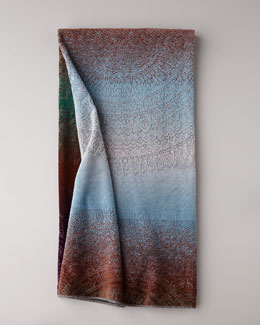 "Spiaggia ""Ombre Medallion"" Beach Towel"