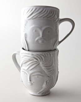 """Jonathan Adler """"Utopia Mullet"""" Mug"""
