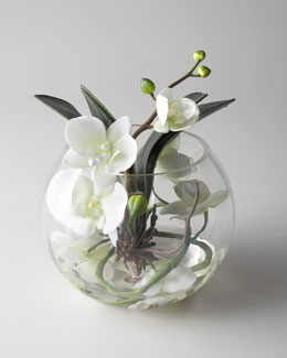 "John-Richard Collection ""Sunken Orchid"" Faux Floral Arrangement"