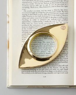 "Jonathan Adler ""Eye"" Magnifying Glass"