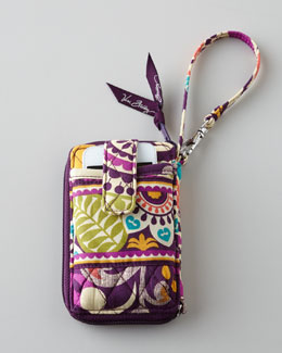"Vera Bradley ""Plum Crazy"" Carry It All Wristlet"