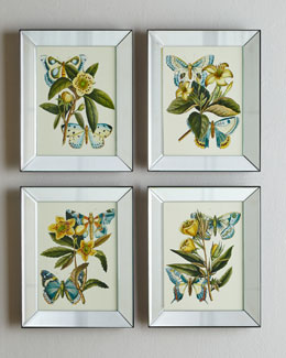 "Four ""Butterfiles"" Prints"