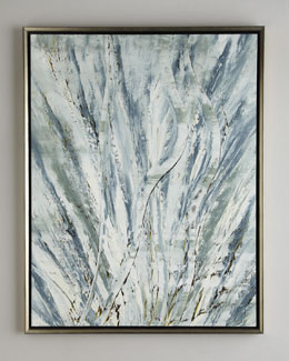 "John-Richard Collection ""Ocean Grass"" Jinlu Oil Painting"
