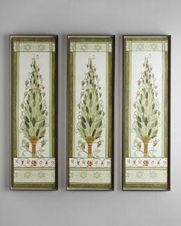 "Florence de Dampierre ""Topiary Panel"" Giclee"