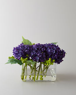 "John-Richard Collection ""Purple Beauty"" Faux Floral Arrangement"