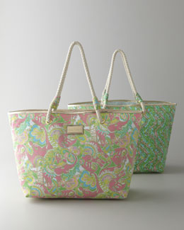 "Lilly Pulitzer ""Shoreline"" Tote"