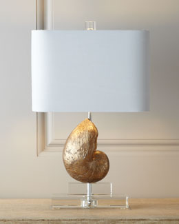 """Sanibel"" Mini-Shell Lamp"