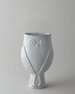 """Jonathan Adler """"Utopia Owl"""" Vase"""