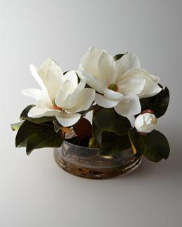 "John-Richard Collection ""Magnolia Grandflora"" Faux Arrangement"