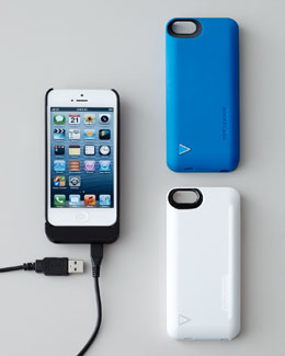 iPhone 5/5s Hybrid Snap Case/Battery Charger