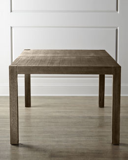 NM EXCLUSIVE Karington Ash Dining Table with Two Leaves