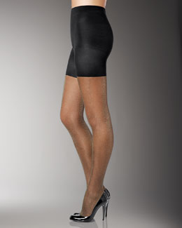 Spanx Tight-End Tights, Metallic Luxe