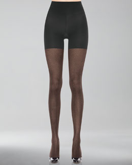 Spanx Patterned Tight-End Tights, Illusion Stripe