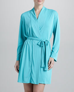 Natori Adore Wrap Robe, Sea Glass