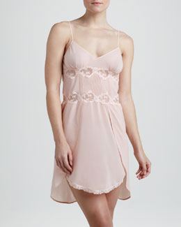 La Perla Angel Stretch-Silk Babydoll
