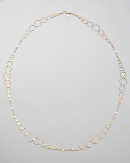 John Hardy Gold Dot Large-Link Sautoir Necklace, 36""
