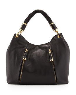 Michael Kors Tonne Hobo Bag, Black