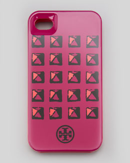 Tory Burch Pyramid Stud iPhone 4/4s Case, Royal Fuchsia