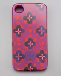 Tory Burch Sintra Soft iPhone 4 Case, Party Fuchsia