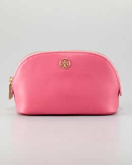Tory Burch Robinson Make-Up Bag, French Rose