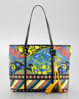 Rafe Jesse Tropical Tote Bag, Floral