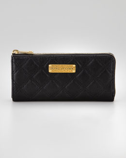 Marc Jacobs Lex Continental Wallet, Black