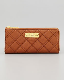 Marc Jacobs Lex Continental Wallet, Cognac