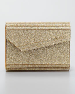Jimmy Choo Candy Clutch Bag, Gold