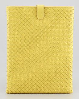 Bottega Veneta iPad Cover, Yellow