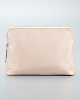 3.1 Phillip Lim 31 Minute Cosmetic Bag, Blush/White