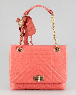 Lanvin Happy Medium Shoulder Bag, Pink