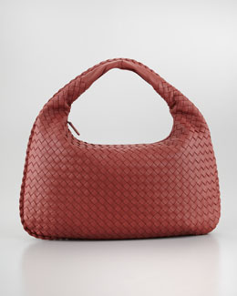 Bottega Veneta Medium Hobo Bag, Rose