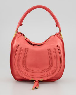 Chloe Marcie Medium Hobo Bag, Paradis