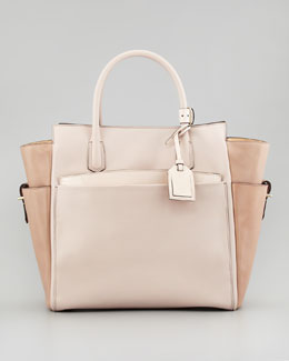Reed Krakoff Atlantique Tote Bag, Multicolor Nude