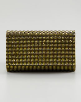 Judith Leiber Fizzy Flap-Top Clutch Bag