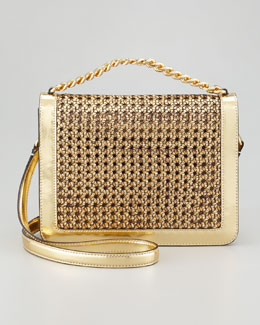 Stella McCartney Pembridge Braided Crossbody Bag