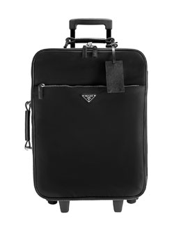 Prada Nylon Wheel-Away Trolley Case