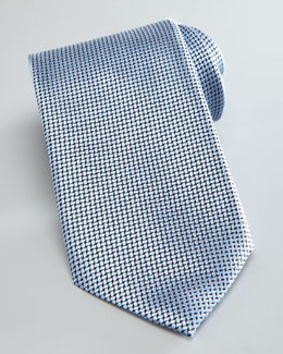 Ermenegildo Zegna Textured Solid Tie, Light Blue