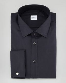 Armani Collezioni Twill Dress Shirt