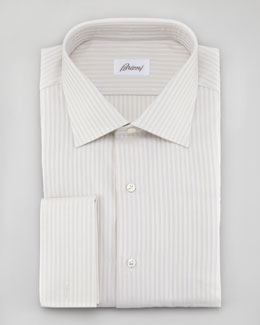 Brioni Striped Woven Shirt