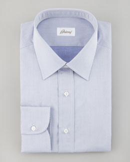 Brioni Mini Herringbone Shirt