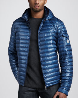 Moncler Lionel Hooded Puffer Jacket