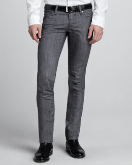 DSquared2 Slim Gray Jeans