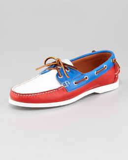 Ralph Lauren Colorblock Boat Shoe
