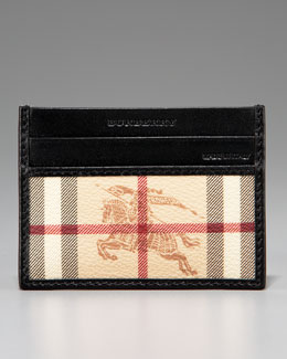 Burberry Classic Check Credit Card Case